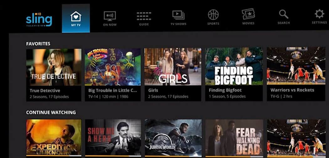 How to Watch Free Movies and TV Shows with Sling TV - Info