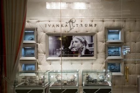 The Ivanka Trump Collection store stands inside Trump Tower in New York, U.S., on Thursday, June 1, 2017