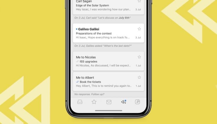 Newton Mail Updates iOS App With 'Recap' Feature to Remind You About Missed Messages