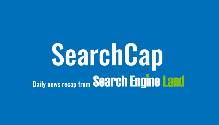 SearchCap: Google upgrades event search feature, rookie link building & more – Info SEO
