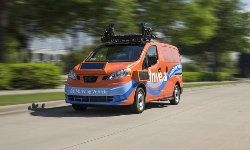 Self-driving vehicle service in Frisco, Texas, to start in July