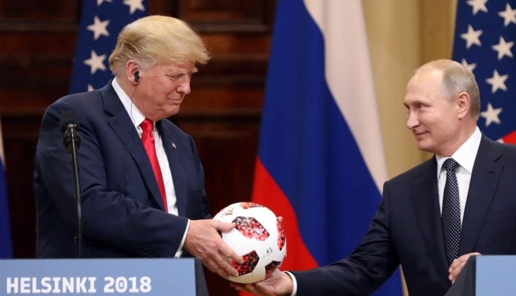 Soccer Ball given to Trump by Putin has an NFC communications chip built-in, stoking fears of espionage – Info CCrime