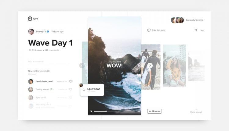 UI Inspiration: This week's selections from Bradley Ziffer, BrandBox and more