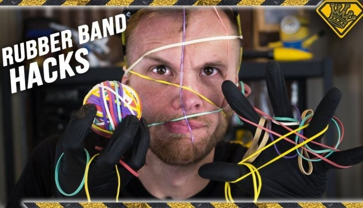 Watch This Guy Test 10 Rubber Band Hacks – Info Computing