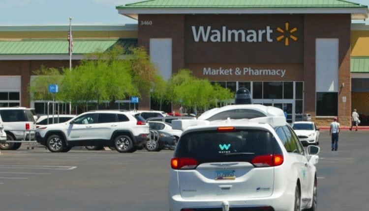 Waymo, Walmart offer glimpse into commercializing self-driving cars – Info Robotic