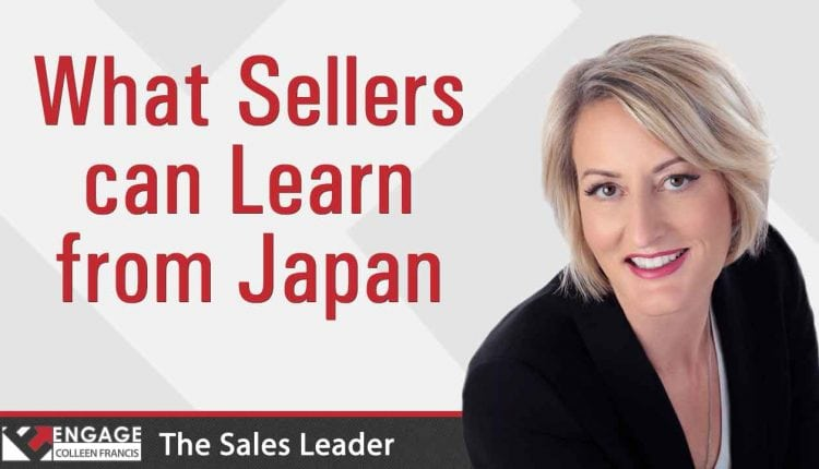 What Sellers Can Learn from Japan | Sales Strategies – Info Sales