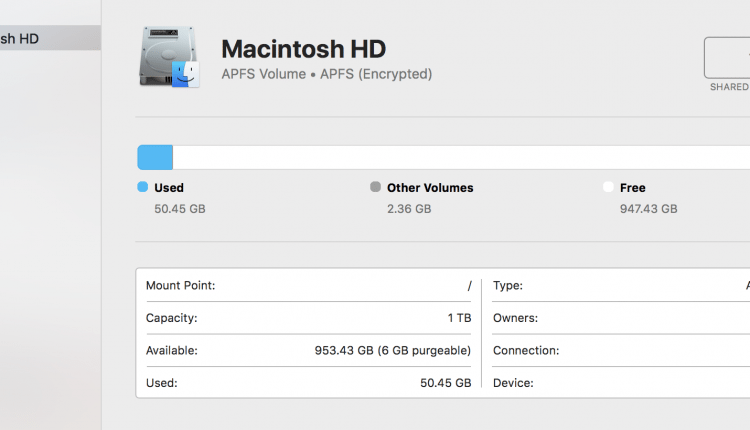 What is the default filesystem for 2018 MacBook Pro – Info Mac