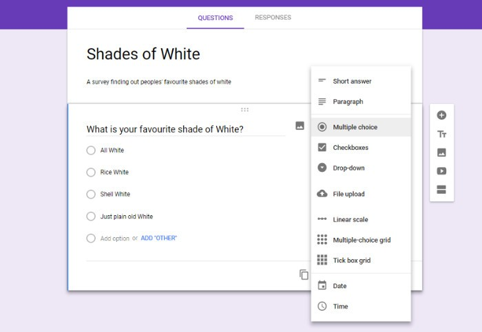 How to Embed a Google Form Poll into an Email   Tutorial