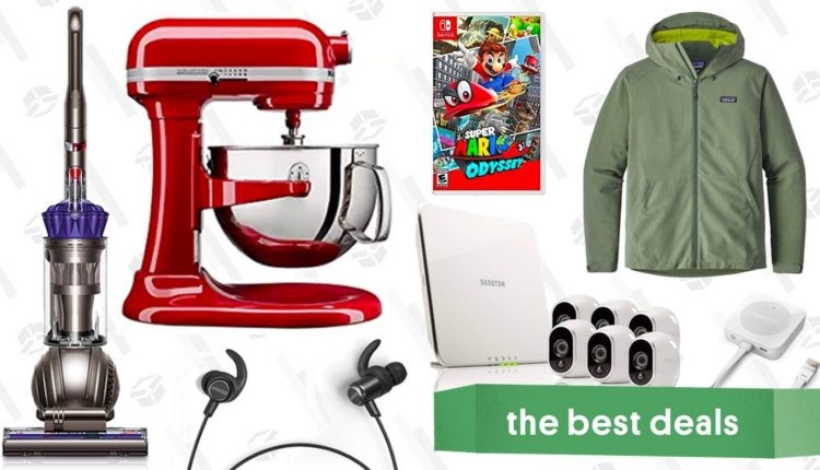 Wednesday's Best Deals: KitchenAid Mixer, Smart Security System, Dyson Vacuum, and More – Info Tips and Tricks