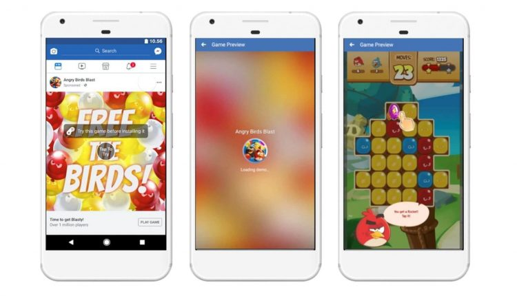 Facebook launches playable ads, tests retention optimization for app advertising – Info Marketing