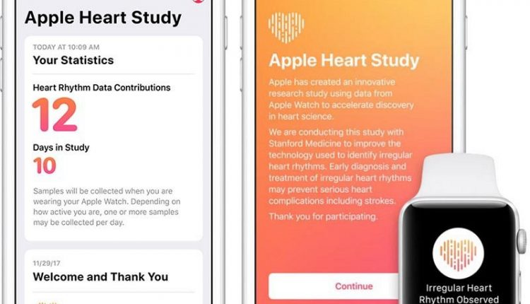 Apple Closes Apple Watch Heart Rate Study to New Participants – Info Mac