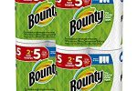 Bounty Select-a-Size Paper Towels, 8 Huge Rolls only $15.64! – Info Money Manage