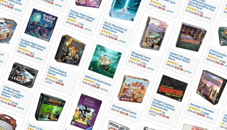 Stuff Your Game Cabinet With One of Amazon's Biggest Board Game Sales Ever – Info Computing