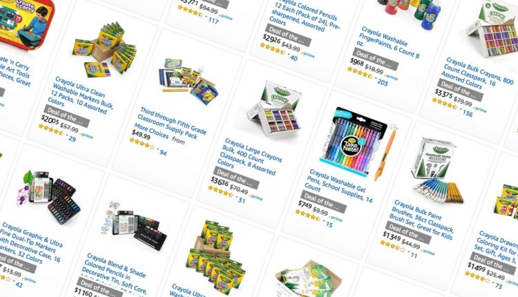 Amazon's Running a Massive One-Day Crayola Sale, Including Class Packs You Can Donate to a School – Info Computing