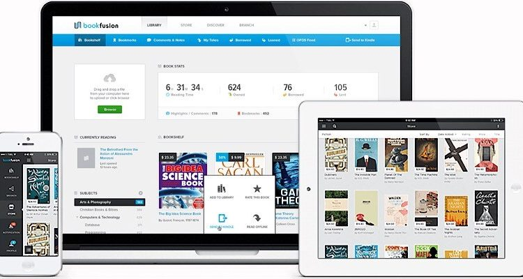 BookFusion: An Alternate E-Reader for iOS, Android, and the Web | Software