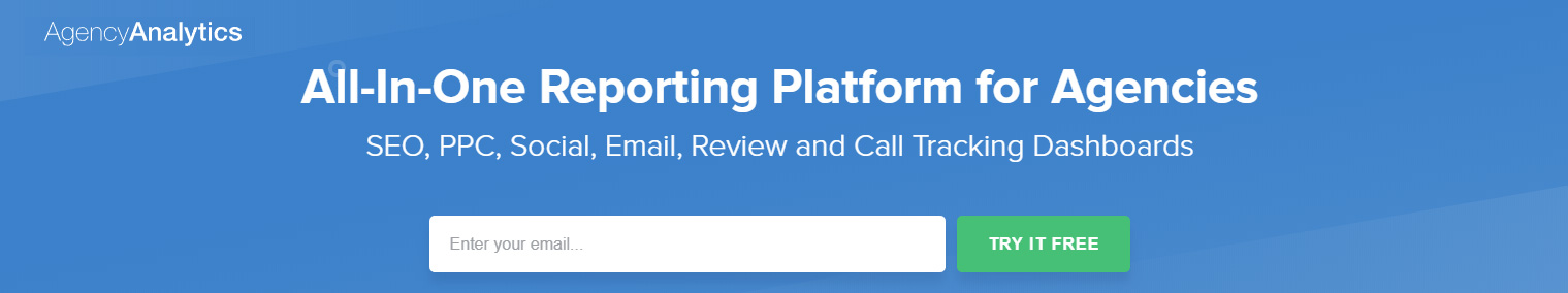 All in one reporting platform for agencies - SEO PPC social email