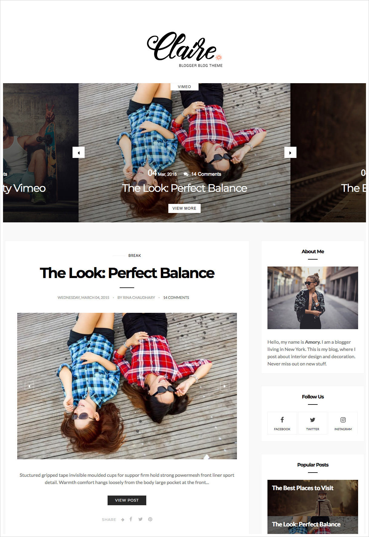 Claire-Clean-Personal-Responsive-Blogger-Template