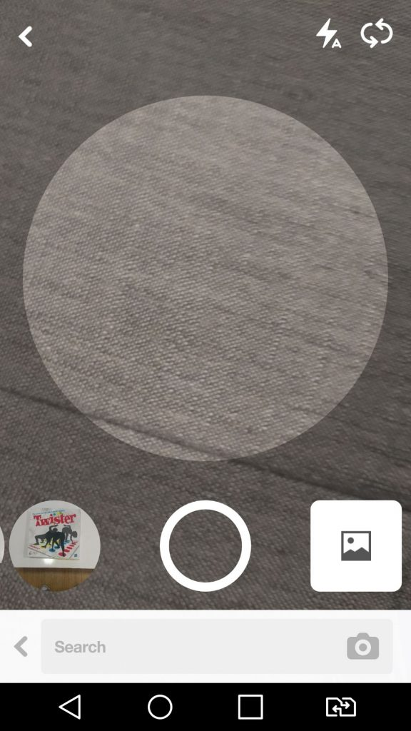 Pinterest Visual Search Camera