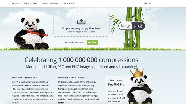 eCommerce Product Pages Compression