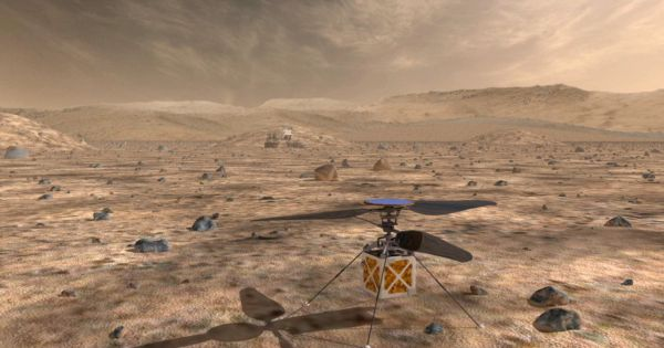 NASA just built a tiny helicopter that will fly over Mars' surface   Robotics