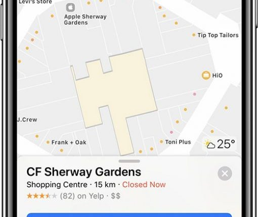 Apple Maps Now Features Indoor Maps at 18 Shopping Malls in Canada | Mac