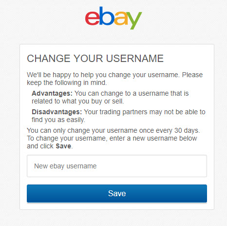 How to Change Your eBay Username   Top Stories   Top Stories, ONLY infoTech