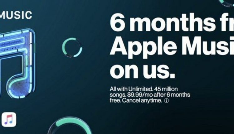 Verizon Subscribers With Unlimited Plan Can Now Sign Up for Six Free Months of Apple Music | Mac