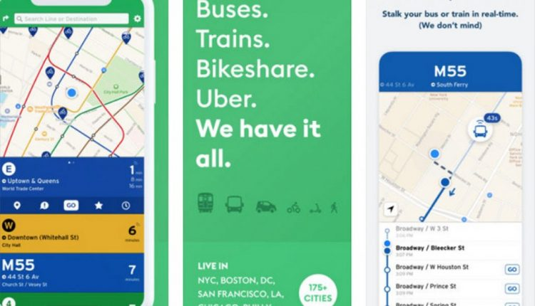 Transit App Expands Real-Time Crowdsourced Data to 175 Cities | Mac