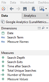 Bonus Data When You Connect Tableau and Google Analytics