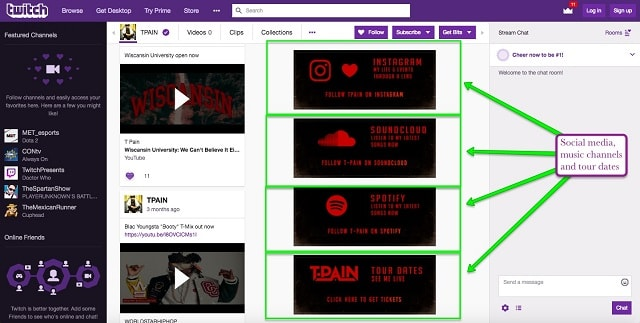 How to Use Twitch.tv T-Pain