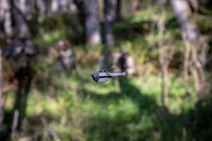 Small drones such as those from FLIR have raised interest for military uses.