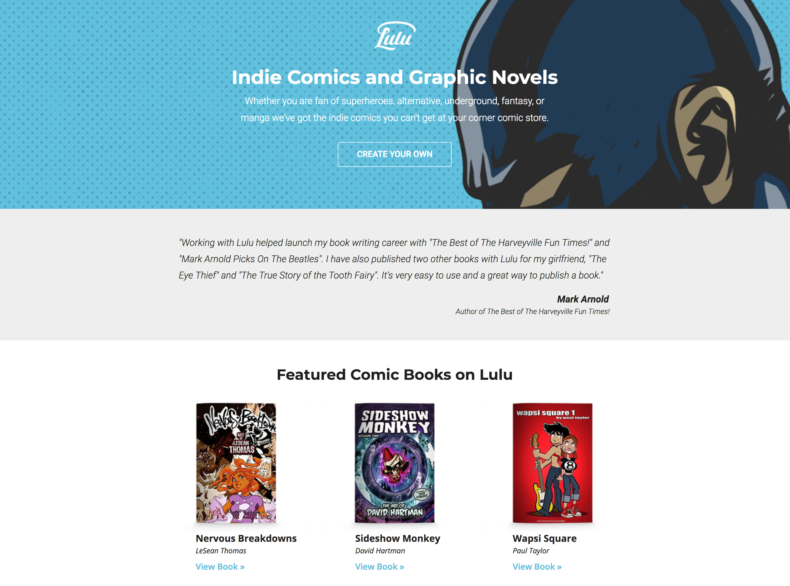 Print-On-Demand Comics