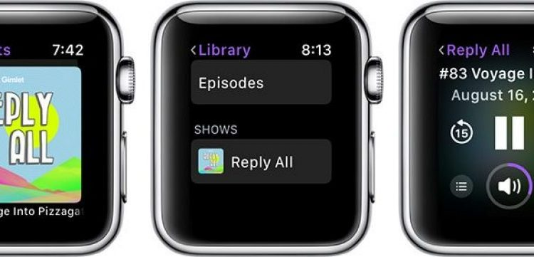 How to Use the Podcasts App in watchOS 5 | Mac