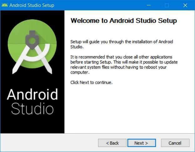 Install Android Studio
