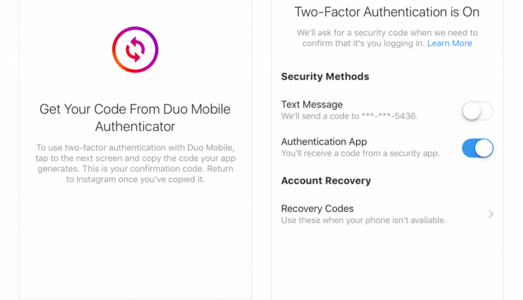 Instagram to Support Authenticator Apps for Improved 2FA Feature | Cyber Security
