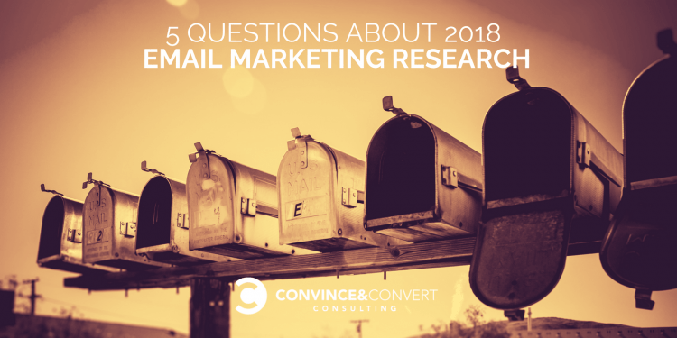 2018 email marketing research