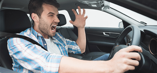 7 Tips To Overcome Anger While Driving