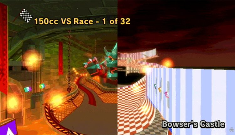 A Beta Version Of Bowser's Castle Was Hiding In Mario Kart Wii – Info Computing