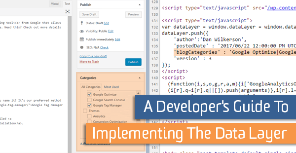 A Developer's Guide To Implementing The Data Layer | Analytics