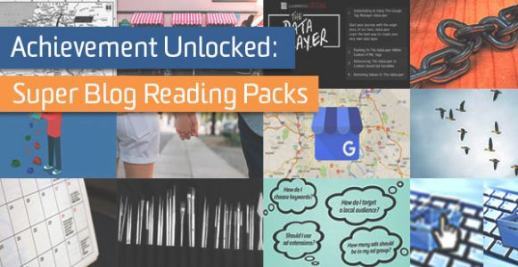 Achievement Unlocked: Super Blog Reading Packs | Analytics