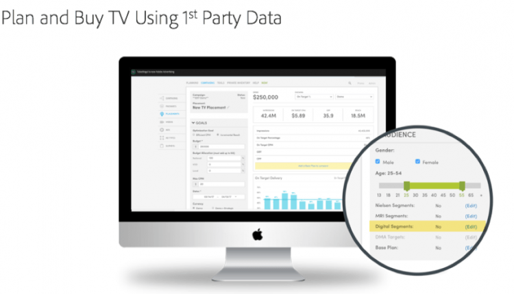 Adobe Launches Adobe Advertising Cloud TV for Personalized TV Advertising | UI