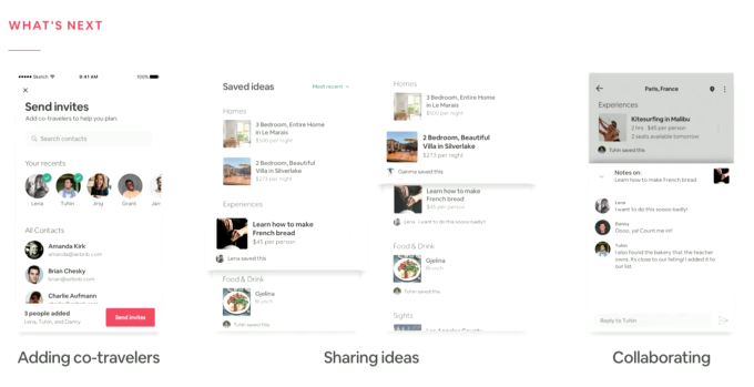 Airbnb shows off new collaboration features that let co-travelers plan trips together | Social, ONLY infoTech