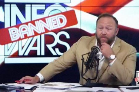 Alex Jones lost ground on Facebook and YouTube for months. Now InfoWars is starting from scratch   Advertising