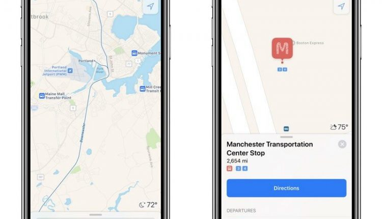 Apple Expands Transit Directions in Vermont, New Hampshire, Maine and Michigan | Mac