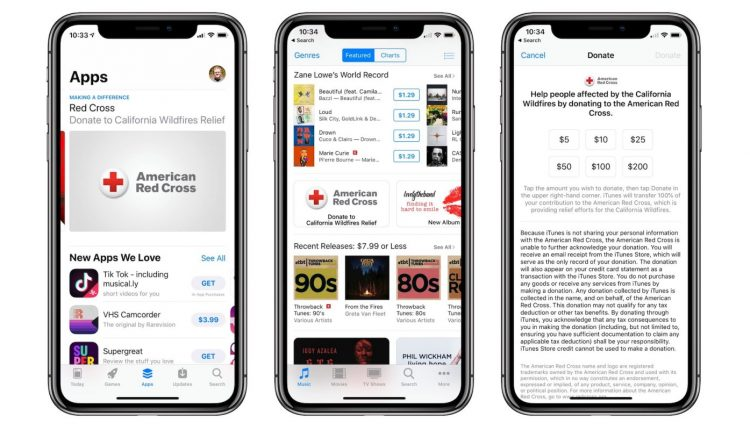 Apple collecting American Red Cross donations for California wildfire relief effort – Info Mac