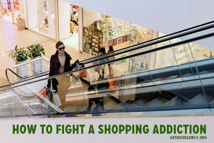 How to Fight a Shopping Addiction