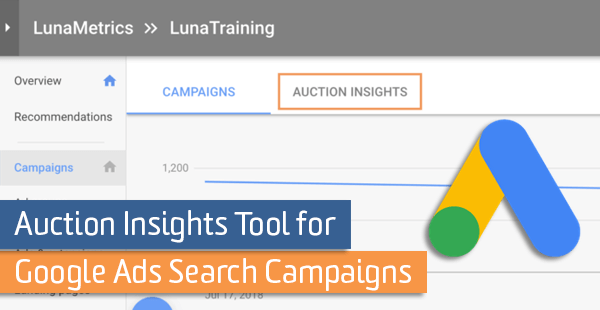 Auction Insights Tool for Google Ads Search Campaigns | Analytics