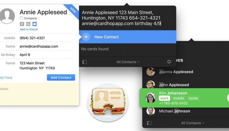 Cardhop for Mac adds Instagram label, improved contacts label printing, more – Info Mac
