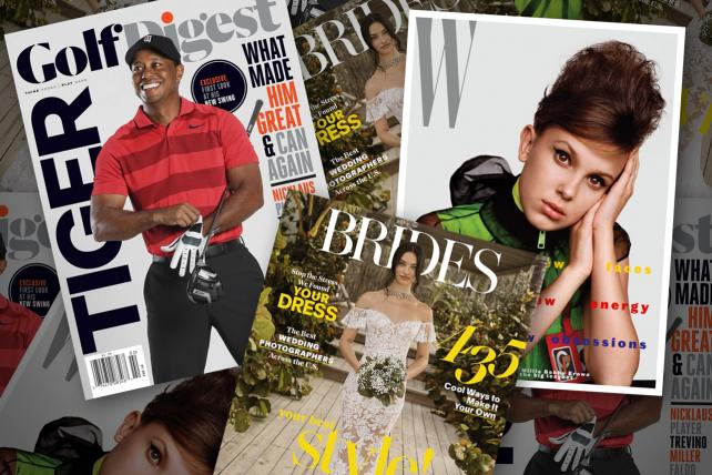 Conde Nast will reportedly put a 'For Sale' sign on its Brides, Golf Digest and W magazines – Info Advertisement