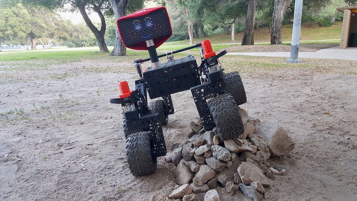 NASA JPL Open Source Rover